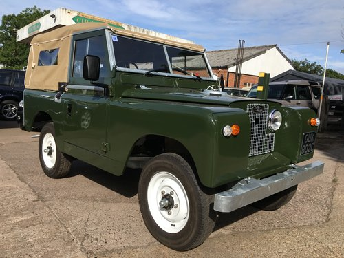 1963 Restored Series 2a SWB 2.25 petrol Soft Top SOLD (picture 1 of 6)