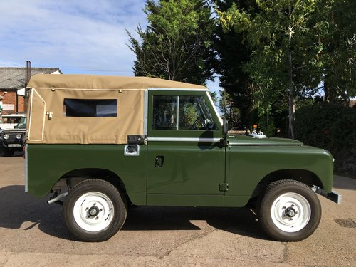 1963 Restored Series 2a SWB 2.25 petrol Soft Top SOLD (picture 2 of 6)