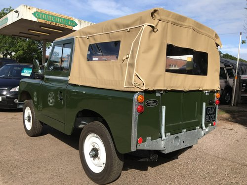 1963 Restored Series 2a SWB 2.25 petrol Soft Top SOLD (picture 3 of 6)
