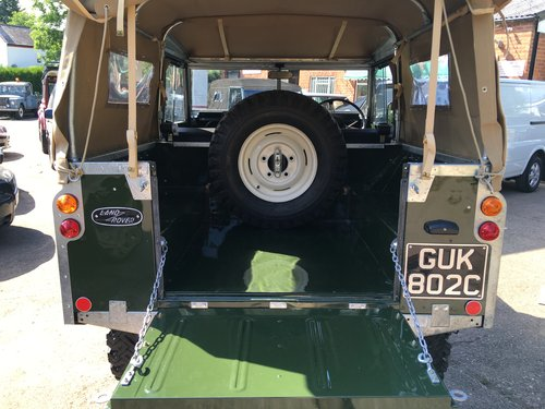1963 Restored Series 2a SWB 2.25 petrol Soft Top SOLD (picture 5 of 6)