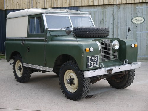 1971 Land Rover Series IIA 88 SOLD (picture 1 of 6)