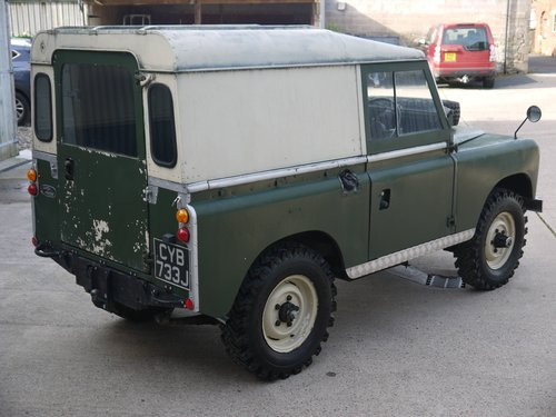 1971 Land Rover Series IIA 88 SOLD (picture 4 of 6)