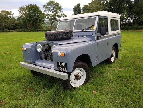 Land Rover series 2a 1962 overdrive For Sale (picture 1 of 6)