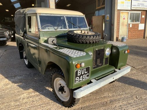 1965 land rover series 2 truck cab petrol tax excempt For Sale (picture 1 of 6)