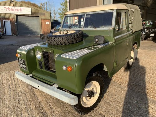 1965 land rover series 2 truck cab petrol tax excempt For Sale (picture 2 of 6)