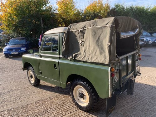 1965 land rover series 2 truck cab petrol tax excempt For Sale (picture 3 of 6)