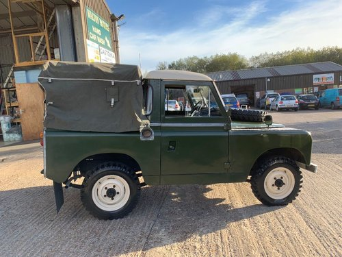 1965 land rover series 2 truck cab petrol tax excempt For Sale (picture 4 of 6)