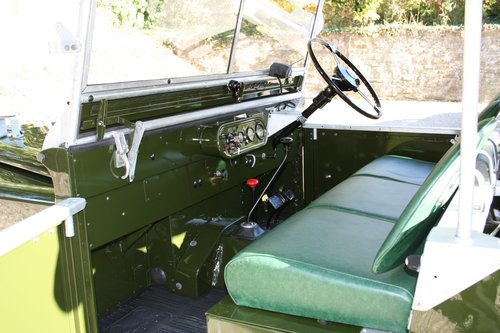 "1949 Land Rover Series 1 80"" Lights behind the Grille For Sale (picture 6 of 6)"