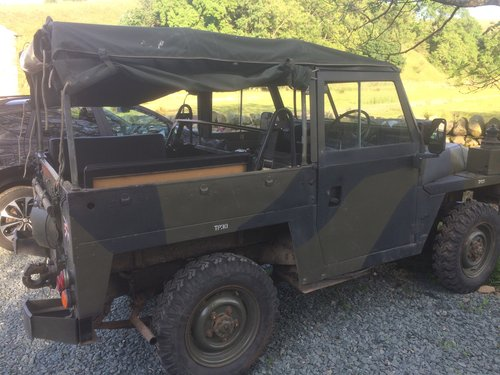 1980 Land Rover lightweight 24 volt For Sale (picture 1 of 3)