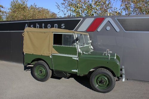 1949 Land Rover Series 1 - Restored By Dunsford L/Rover For Sale (picture 1 of 6)