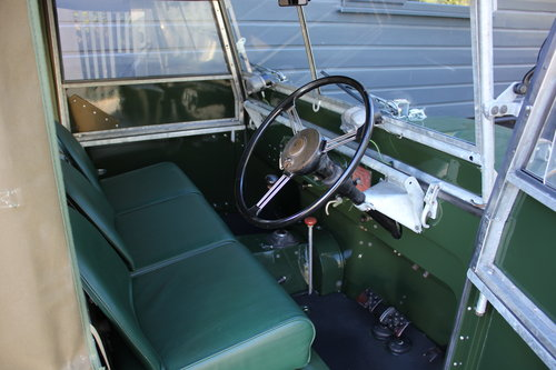 1949 Land Rover Series 1 - Restored By Dunsford L/Rover For Sale (picture 2 of 6)