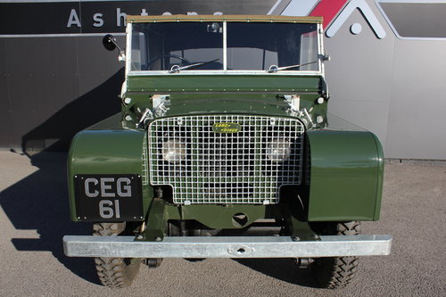 1949 Land Rover Series 1 - Restored By Dunsford L/Rover For Sale (picture 3 of 6)