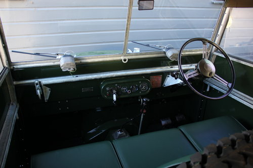 1949 Land Rover Series 1 - Restored By Dunsford L/Rover For Sale (picture 4 of 6)