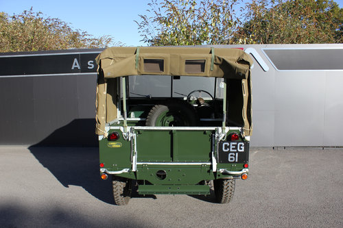 1949 Land Rover Series 1 - Restored By Dunsford L/Rover For Sale (picture 5 of 6)