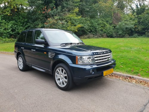 2009 Range Rover Sport HSE TDV8. Low Miles. Nice Example. Bargain SOLD (picture 1 of 6)
