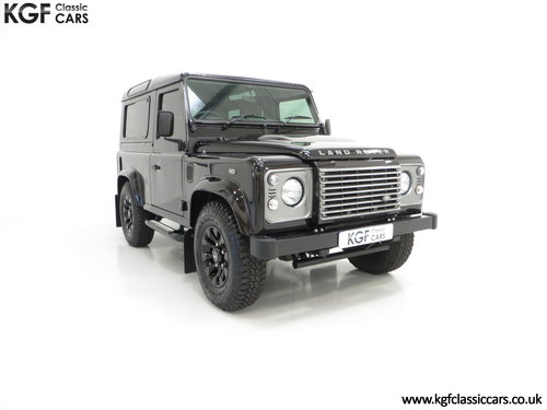 2013 All Conquering Land Rover Defender 90 XS with 11,086 Miles SOLD (picture 1 of 6)
