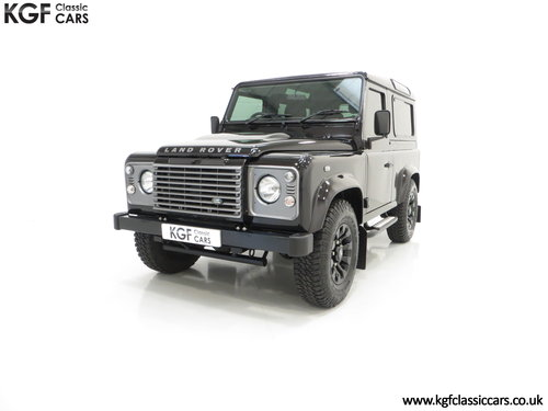2013 All Conquering Land Rover Defender 90 XS with 11,086 Miles SOLD (picture 2 of 6)