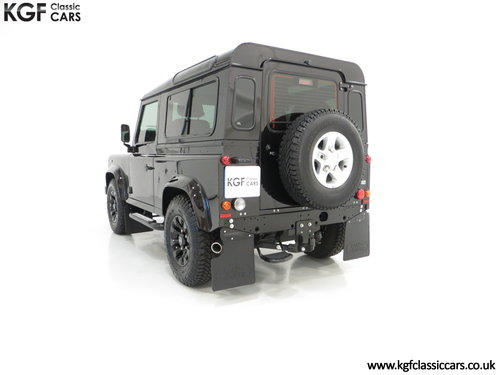 2013 All Conquering Land Rover Defender 90 XS with 11,086 Miles SOLD (picture 4 of 6)