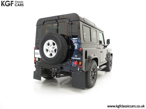 2013 All Conquering Land Rover Defender 90 XS with 11,086 Miles SOLD (picture 5 of 6)