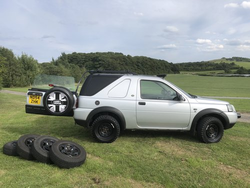 2005 Land Rover Freelander TD4 Commercial For Sale (picture 1 of 6)
