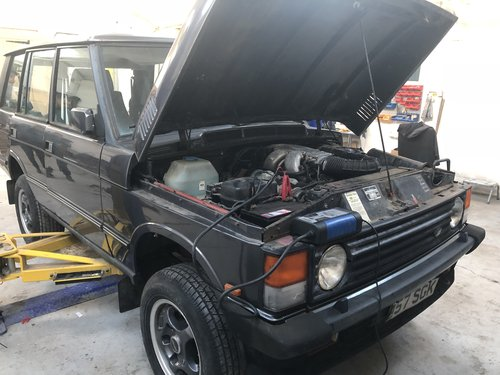 1990 range rover overfinch 680 cs 6.8 manual - lhd vogue se For Sale (picture 2 of 6)