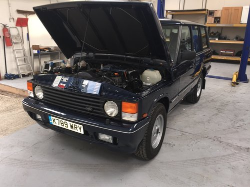 1990 range rover overfinch 680 cs 6.8 manual - lhd vogue se For Sale (picture 6 of 6)