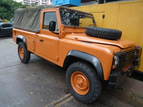 1985 LAND ROVER DEFENDER 110 SOFT TOP For Sale (picture 6 of 6)