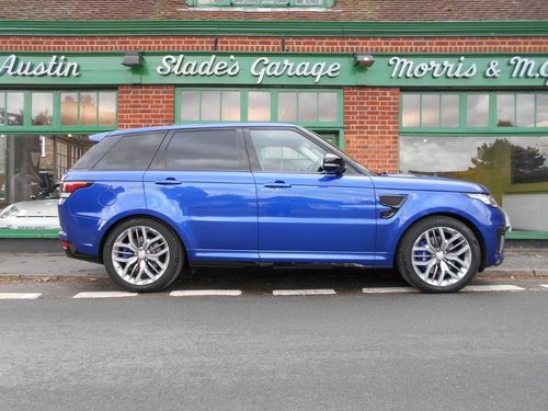 2016 Range Rover Sport SVR  SOLD (picture 1 of 4)
