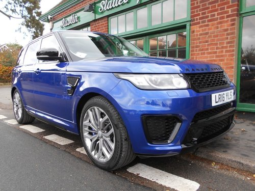 2016 Range Rover Sport SVR  SOLD (picture 2 of 4)