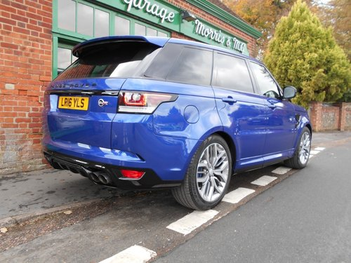 2016 Range Rover Sport SVR  SOLD (picture 3 of 4)