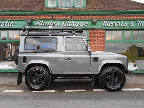 2015 Land Rover Defender 90 TD XS SOLD (picture 1 of 4)