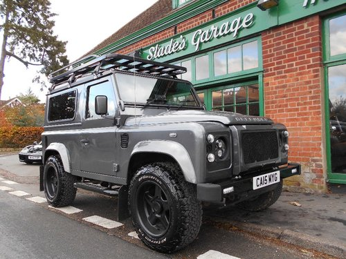 2015 Land Rover Defender 90 TD XS SOLD (picture 2 of 4)