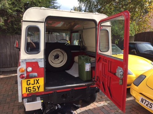 Land Rover 1966 2a swb, mint, REDUCED. For Sale (picture 3 of 6)