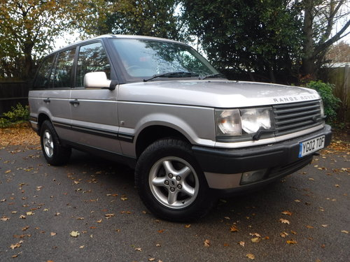 2002 Land Rover Range Rover 4.0 SE 28,000 MILES!!!!!! For Sale (picture 1 of 6)