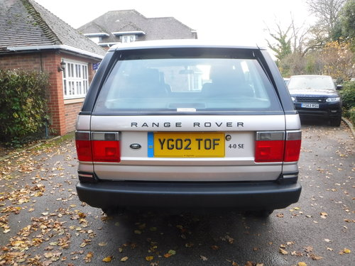 2002 Land Rover Range Rover 4.0 SE 28,000 MILES!!!!!! For Sale (picture 4 of 6)