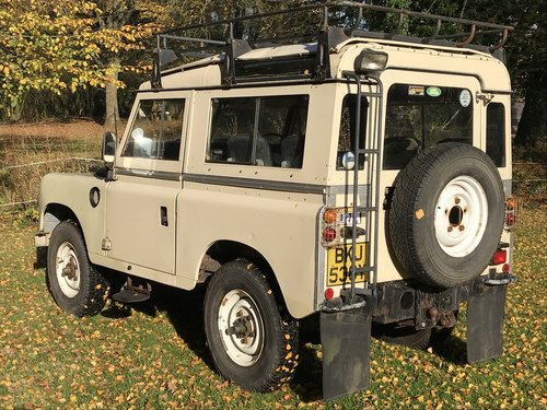 Land Rover Series 3 III 1982 88 SOLD (picture 1 of 6)