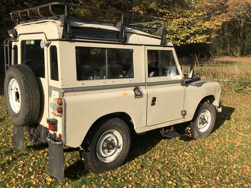 Land Rover Series 3 III 1982 88 SOLD (picture 2 of 6)