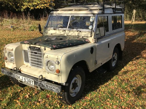 Land Rover Series 3 III 1982 88 SOLD (picture 3 of 6)