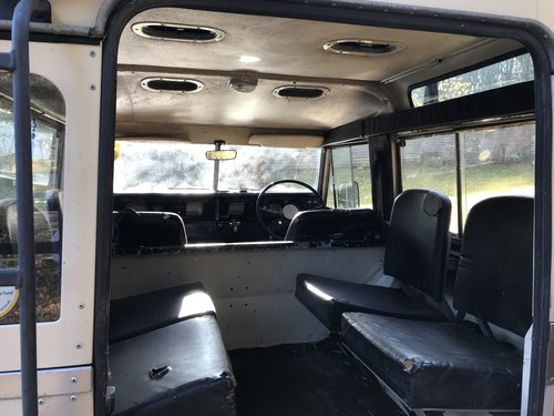 Land Rover Series 3 III 1982 88 SOLD (picture 5 of 6)