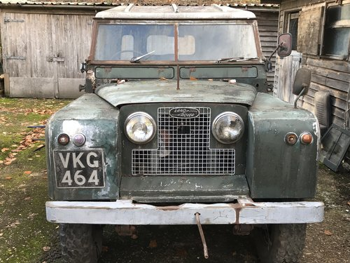 Land Rover Series 2 II 1960 88 SOLD (picture 1 of 6)