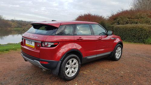 2013 Range Rover Evoque Tdi 4WD Pure Tech  For Sale (picture 3 of 6)