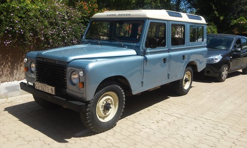 Classic Land Rover 109 super  1985  4x4 SOLD (picture 1 of 6)