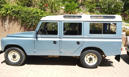 Classic Land Rover 109 super  1985  4x4 SOLD (picture 2 of 6)