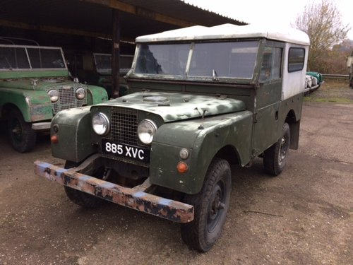1955 Series 1 86 inch Land Rover for Restoration - Great Chassis For Sale (picture 1 of 6)