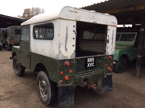 1955 Series 1 86 inch Land Rover for Restoration - Great Chassis For Sale (picture 2 of 6)