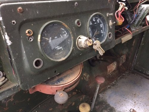 1955 Series 1 86 inch Land Rover for Restoration - Great Chassis For Sale (picture 4 of 6)