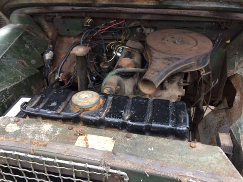 1955 Series 1 86 inch Land Rover for Restoration - Great Chassis For Sale (picture 5 of 6)
