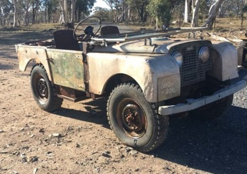 1950 Series 1 Land rover 80 inch for Restoration For Sale (picture 1 of 6)