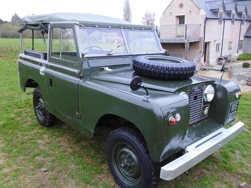 1959 Series 2 Landrover convertible SOLD (picture 1 of 6)
