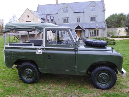 1959 Series 2 Landrover convertible SOLD (picture 2 of 6)